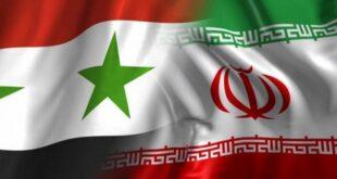 التبادل التجاري بين سوريا وإيران