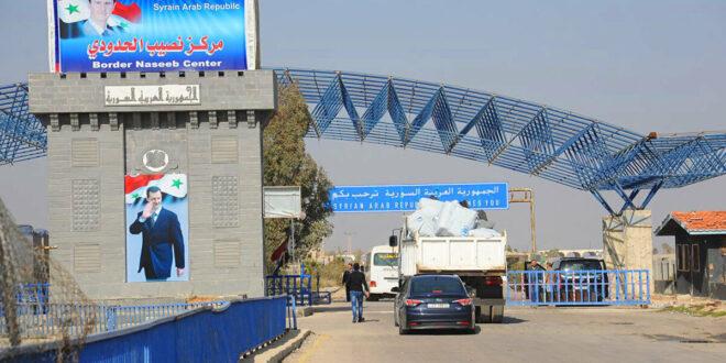تسهيلات جديدة لعبور السيارات السورية إلى الدول الخليجية