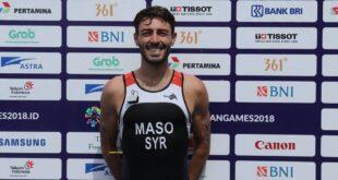 لاعب سوري في أولمبياد طوكيو