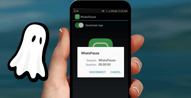 تطبيق جديد يجعلك تستخدم الواتساب كالشبح وبدون استهلاك للانترنت ولن تظهر أون لاين ولا آخر ظهور لك