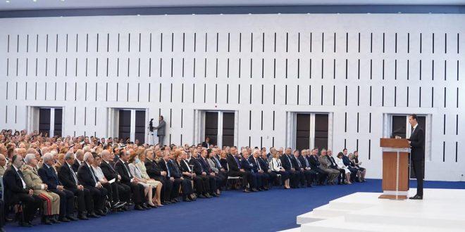 خطاب القسم.. الرئيس بشار الأسد يحدد توجهات سوريا للسنوات السبع القادمة