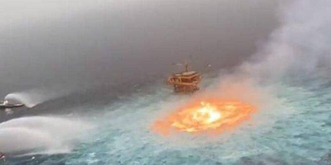 """لقطة مذهلة.. """"عين النار"""" في قلب المحيط"""