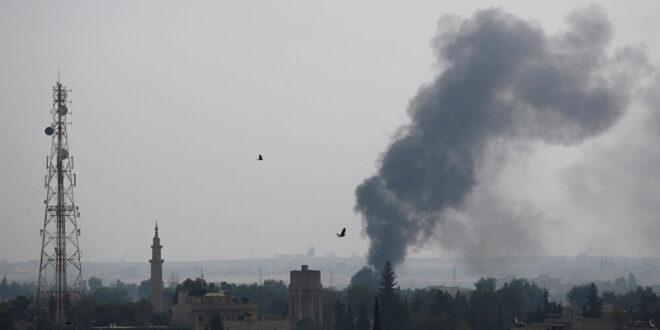 قصف أمريكي يستهدف شاحنة في مدينة البوكمال السورية