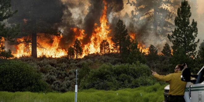 4 كوارث طبيعية تضرب العالم في وقت واحد... فيديو