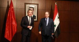 وزير الخارجية الصيني يصل إلى العاصمة دمشق