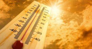 ارتفاع عام على درجات الحرارة