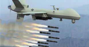 """""""درون"""" أمريكي يستهدف شاحنة نقل مواد غذائية في سوريا"""