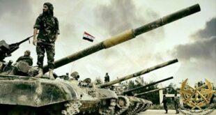 حشود عسكرية سورية الى البادية