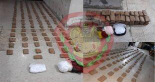 فرع الأمن الجنائي في حمص يضبط كمية كبيرة من المواد المخدرة