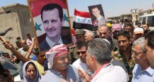 أهالي الزارة بريف حماة يعودون إليها بعد أن حررها الجيش