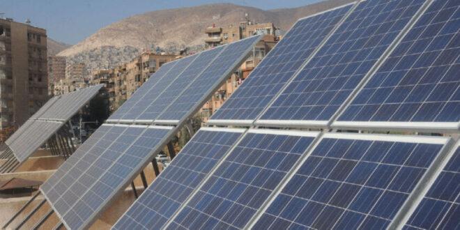 سوريا تتجه لاعتماد الطاقة البديلة لتوفير الكهرباء