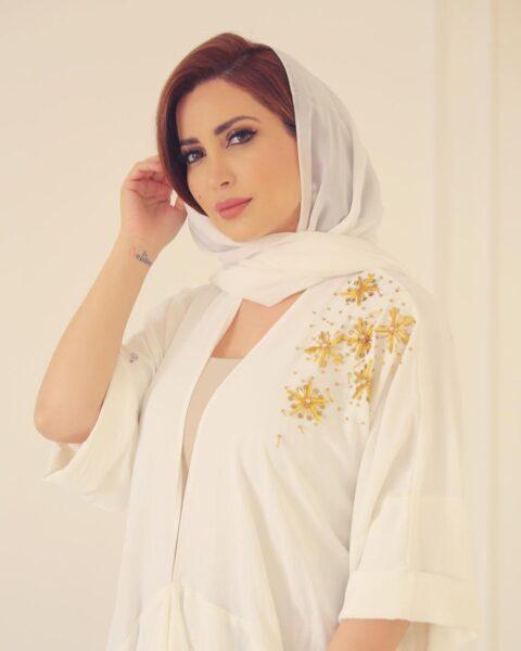 نسرين طافش بالحجاب في يوم عرفة