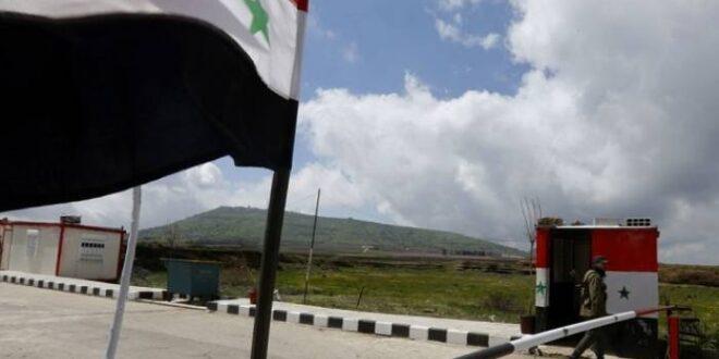 الإسرائيلية التي اجتازت الحدود إلى سوريا