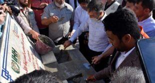 """سوريا.. وضع حجر الأساس لـ""""مدينة الأمل"""" بتعاون تركي قطري بريف حلب"""