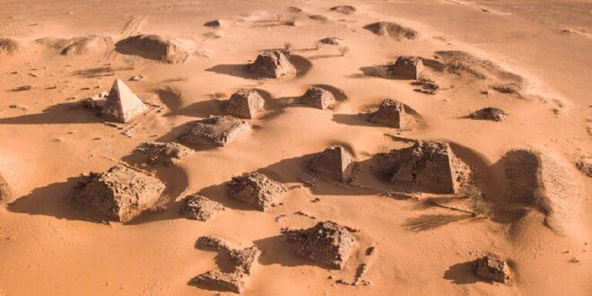 اكتشاف آلاف المقابر الإسلامية القديمة في السودان مرتبة بشكل غامض في أنماط تشبه المجرة!