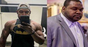 خسر 100 كلغم من وزنه وصار من أبطال كمال الأجسام (فيديو)