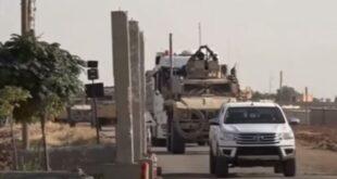 """""""سانا"""": الجيش الأمريكي ينقل أسلحة ومعدات من العراق إلى قواعده بريف الحسكة"""