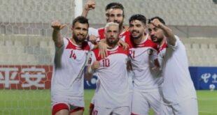 الأردن يرحب باستضافة مباريات منتخب سوريا