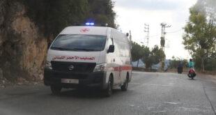 إصابة مواطن سوري بجروح خطرة جراء انفجار قنبلة