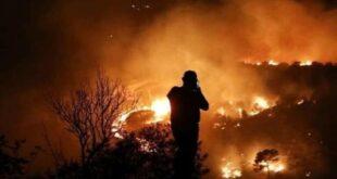 وزير سوري: أضرار الحريق الذي امتد من لبنان إلى سوريا