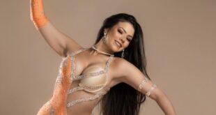 الراقصة لورديانا تلفت الأنظار ببدلة رقص مثيرة