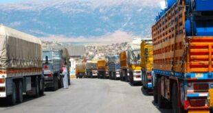 رسوم عالية ومبالغ بها تفرضها الأردن على الشاحنات السورية