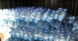 ازدياد الطلب على المياه المعدنية في الأسواق