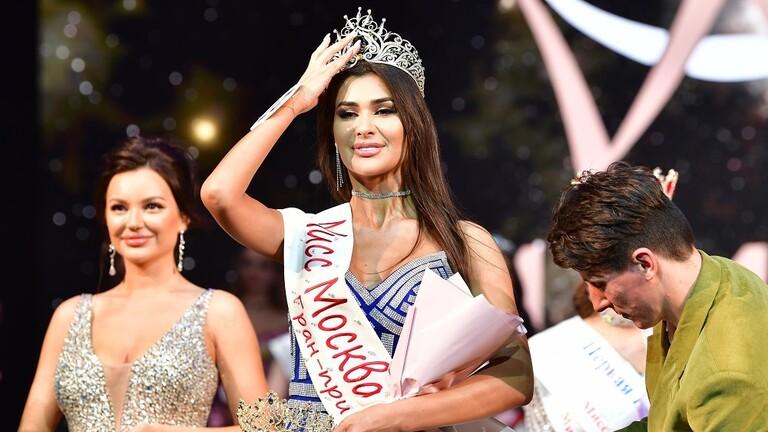 شابة تخطف الأنفاس ملكة جمال موسكو