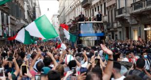 """جريمة قتل وإصابات بالجملة خلال احتفالات إيطاليا بلقب """"يورو 2020"""""""