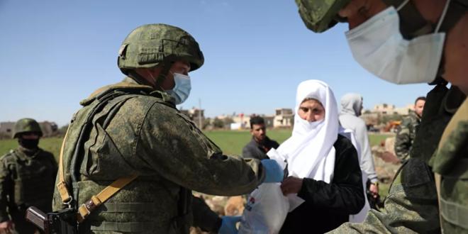 مقاطعة تولا الروسية ترسل مساعدات إنسانية إلى سوريا