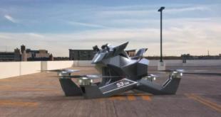 أول دراجة نارية طائرة في العالم... فيديو