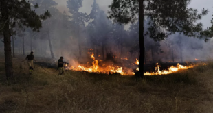 سوريا... إخماد حريق عكار على الحدود اللبنانية