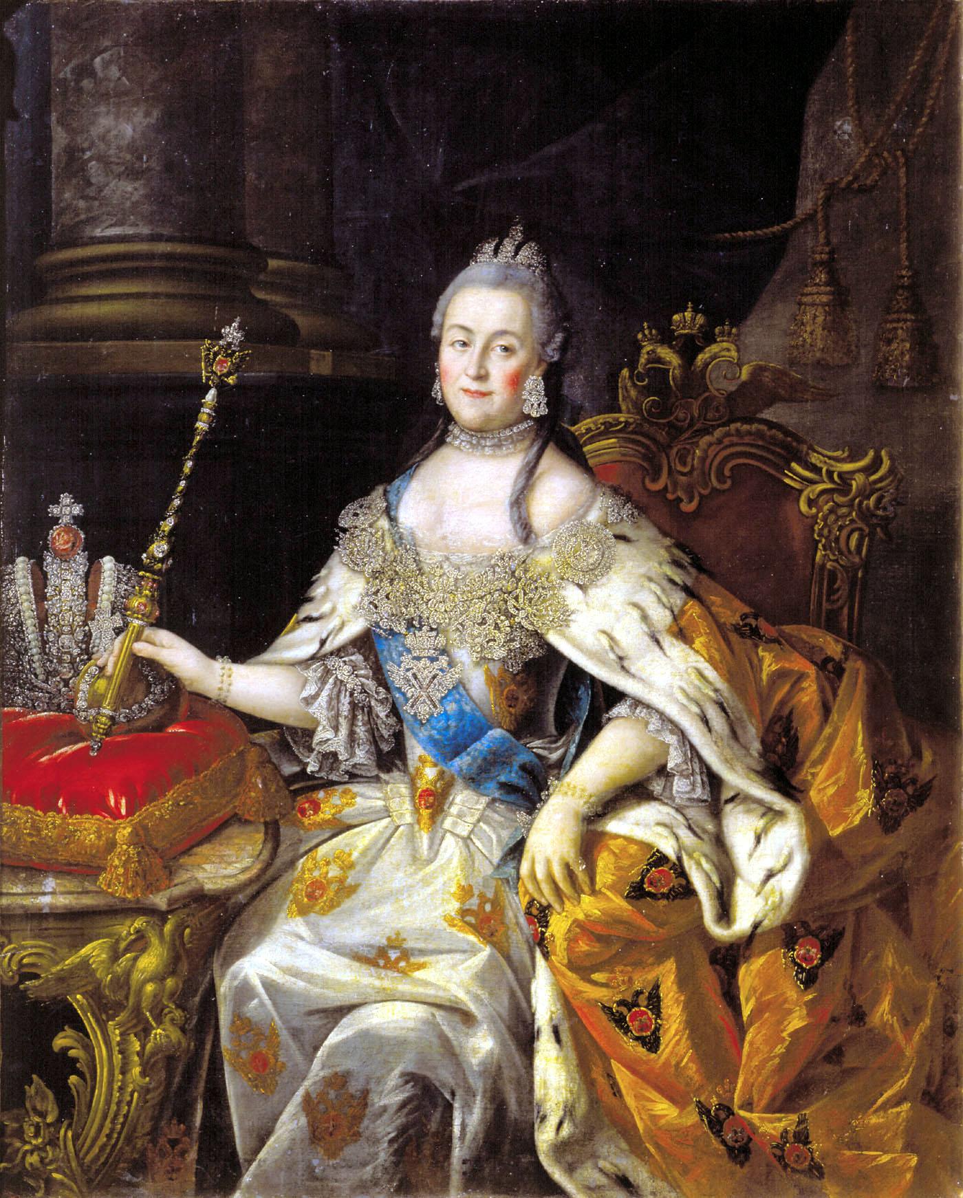 إمبراطورة روسيا وعشيقها القديم