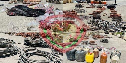 القبض على عصابة تسرق الأسلاك الكهربائية في مشروع دمر بدمشق