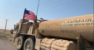 الجيش الأمريكي يواصل سرقة النفط السوري الى العراق