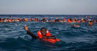 غرق ٩٠ مهاجرا بينهم عائلة سورية كاملة قبالة ليبيا