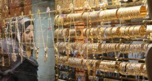 غرام الذهب بدمشق يرتفع 3 آلاف ل.س