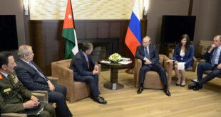 الملك عبد الله يحمل الملف السوري إلى موسكو