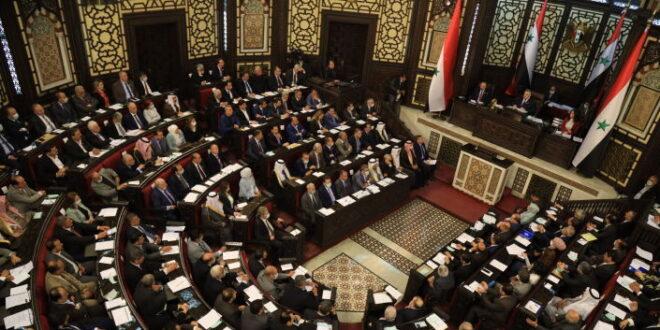 رئيس مجلس الشعب السوري يصل إلى طهران