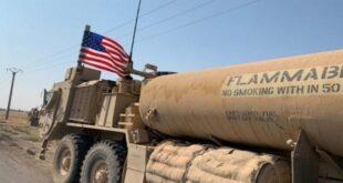 الأمريكي يخرج 80 آلية محملة بالنفط السوري المسروق إلى العراق