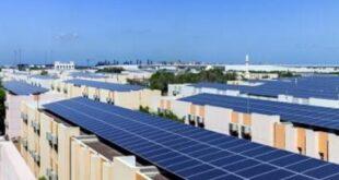 واجهات الأبنية إلى ألواح طاقة شمسية