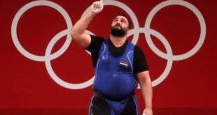 الرباع معن أسعد يمنح سوريا أول ميدالية في أولمبية منذ عام 2004