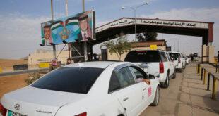 الأردن يسمح بدخول سائقين سوريين عالقين على معبر جابر مع سوريا