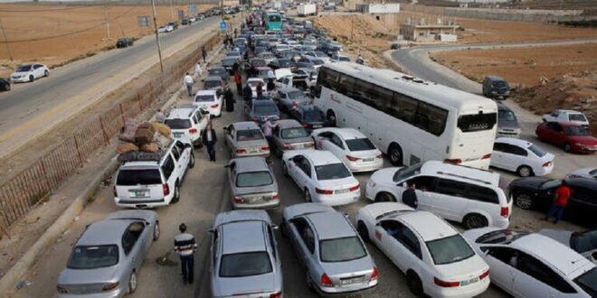 مئات الأردنيين عالقون في سوريا بعد إغلاق معبر جابر