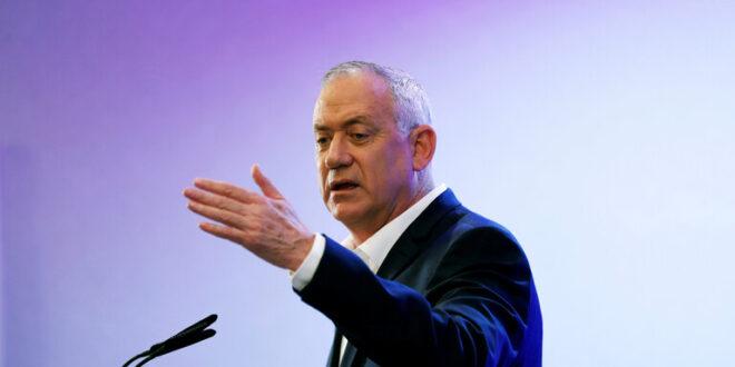 غانتس: إسرائيل مستعدة لمهاجمة إيران