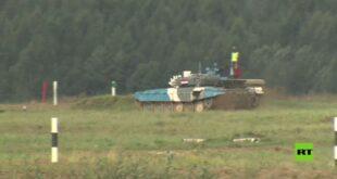 بياتلون الدبابات في روسيا.. تقدم الفريق المنغولي