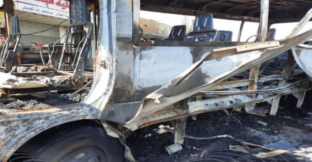تنظيم متشدد يعمل في إدلب يتبنى تفجير باص المبيت في دمشق