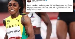 فازت في سباق أولمبياد طوكيو