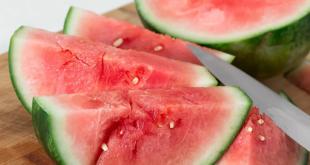 علامات في البطيخ تشير إلى خطورة شديدة
