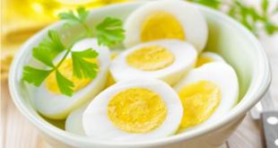 أضرار صادمة لتناول البيض المسلوق يومياً